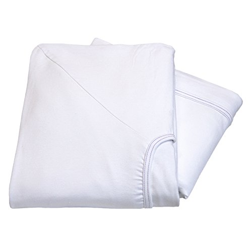 Linteum Textile Soft-Fit Contour Hospital Bed FITTED KNITTED SHEET 36x84x16 in. 1-Pack 24 (Knitted Contour Sheets)