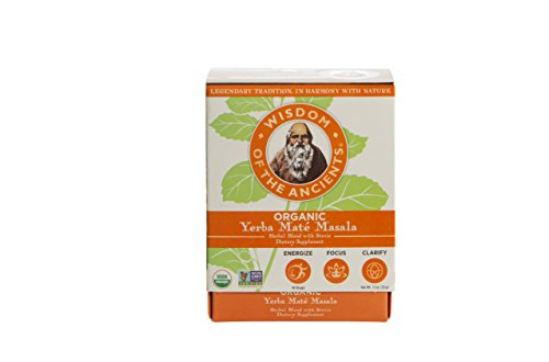 Wisdom of the Ancients Organic Yerba Maté Tea Bags, Masala, 1.1 oz ()