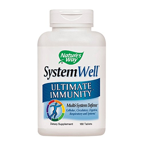 Nature's Way Systemwell Ultimate Immunity Multi-System Defense, 180 tablets (Best Multivitamin For Immune System)