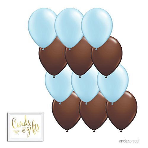 Andaz Press 11-inch Latex Balloon Duo Party Kit