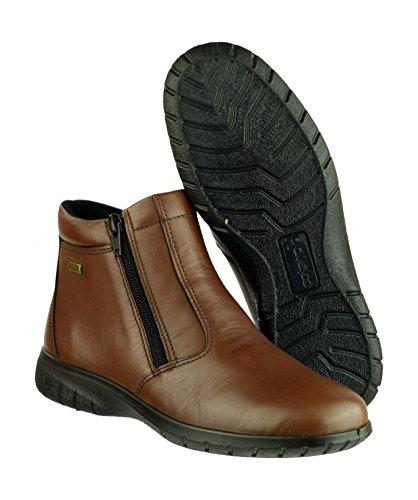 Cotswold Damen Deerhurst Leder Stiefeletten Wasserdicht Schuhe Boots Stiefel Braun 42