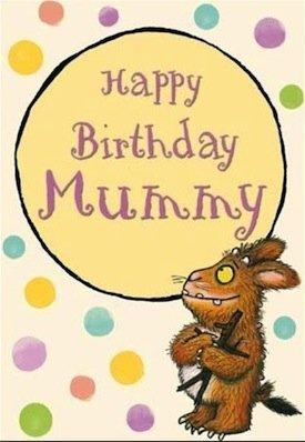 Tarjeta de The Gruffalo - de cumpleaños Mummy (302947 ...