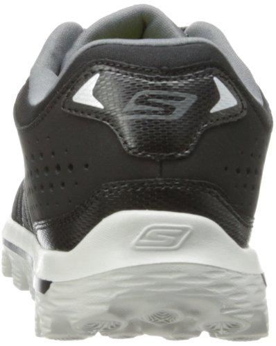 Skechers Go Walk, Zapatos de Deporte de Exterior para Hombre Negro (Black/Grey)