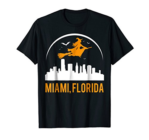 Witch Of Florida Capital Miami Cool Funny T-shirt