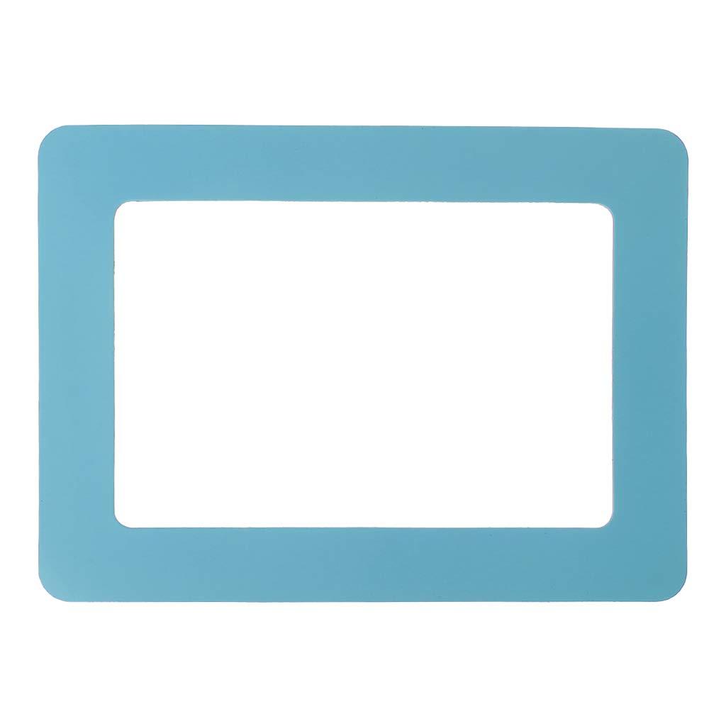 Fmingdou DIY Colorful Magnetic Picture Frames Fridge Refrigerator Magnet Photoframe