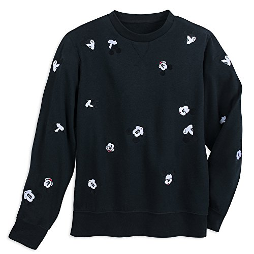 Disney Mickey Mouse Faces Pullover Sweater for Men Size Mens S Black for $<!--$39.95-->
