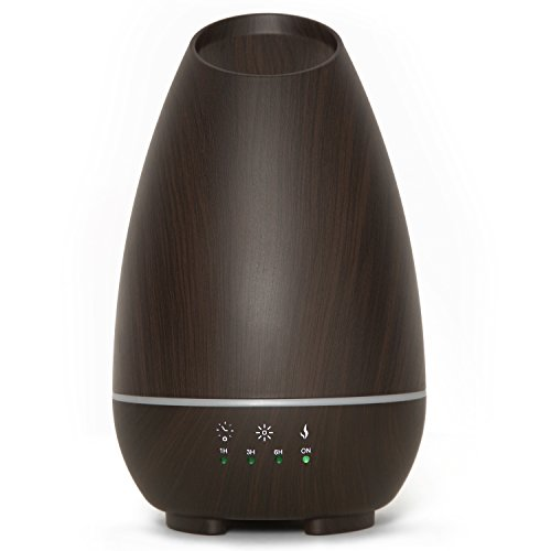 Hathaspace 500ml Large Room Aroma Diffuser, Cool Mist Ultrasonic Fragrance Diffuser & Humidifier for Essential Oil Aromatherapy, BPA-Free, Natural Air Freshener for The Home, Office, or Spa