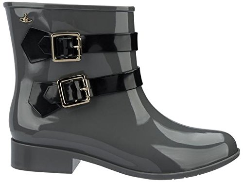 GREY MOON BOOT WESTWOOD ANGLOMANIA VIVIENNE BLACK WOMEN'S DUST MELISSA tAYwRqx
