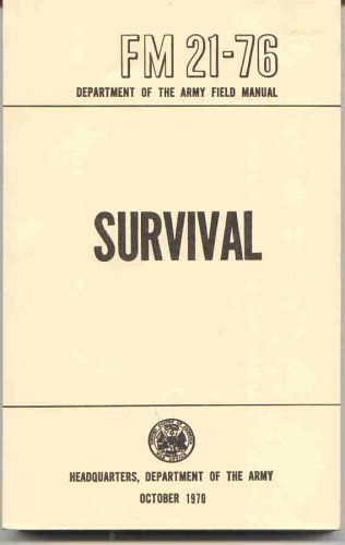 U.S. Army Survival Manual: FM - Shopping The Citadel