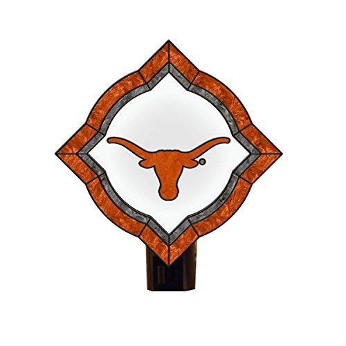 NCAA Texas Longhorns Vintage Art Glass Nightlight