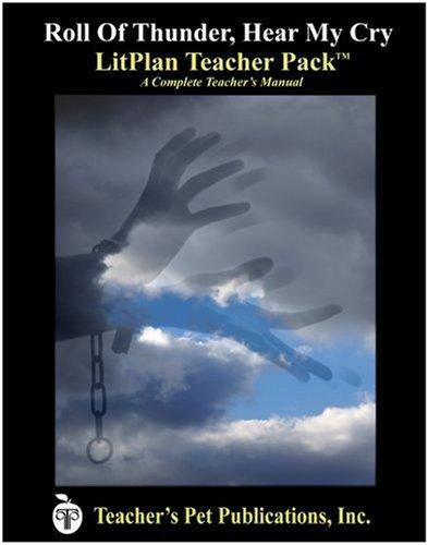 Amazon.com: Roll of Thunder, Hear My Cry LitPlan - A Novel Unit ...