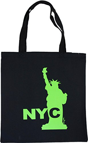 New York City NYC Canvas Tote Bag Heavy Weight 12 Oz Cotton Large 16