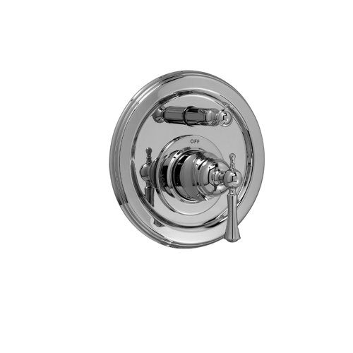 - Jado 842546.100 Hatteras Pressure Balance Tub and Shower Diverter Valve Trim with Lever Handle, Polished Chrome