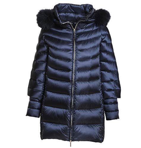 HETREGÓ Women's 8G601F18W002NTE Blue Polyamide Down Jacket