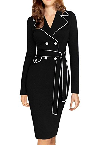 YEEZ Womens Elegant Sleeves Business