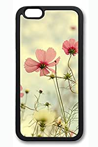 Beautiful Flowers 02 Slim Soft Cover Case For Iphone 4/4S Cover PC Black Cases