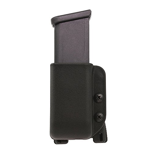 Blade-Tech Industries Glock 10/45 Signature Series Single Mag Pouch Tek-Lok Attachment, Black - Double Bullet Block
