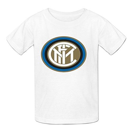 - Kidsloveit Kids Boys' Inter Milan Graphic Short Sleeve T-shirts M White