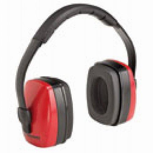 Gateway Earmuffs (Soundout Earmuffs, Red and Black, Three Position Dielectric, 28 NRR, 95234)