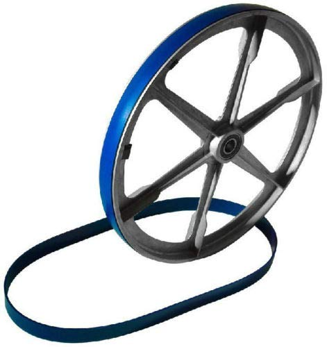 New Heavy Duty Band Saw Urethane 2 Blue Max 2 Tire Set 12 3/8'' X 1 1/4'' BAND SAW TIRES