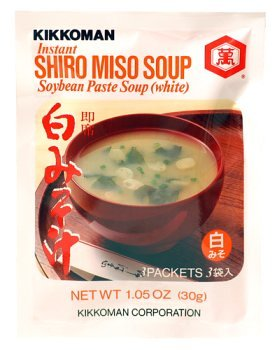 (Kikkoman Instant Shiro Miso (White) Soup Value Pack (9 Pockets) - 3.15)