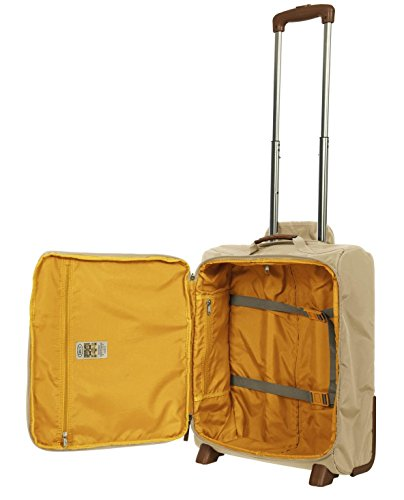 Brown travel Orange Trolley Bric's X X corda Bric's tF6wqtYg