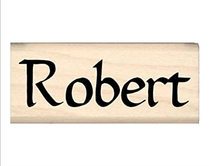 Stamps By Impression Robert Name Rubber Stamp