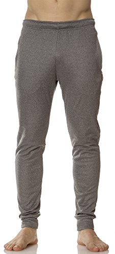 Rain Rei Pants - (L63460) Layer 8 MensTech Fleece Jogger in Medium Grey Size: L