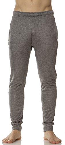 Pants Rain Rei - (L63460) Layer 8 MensTech Fleece Jogger in Medium Grey Size: L