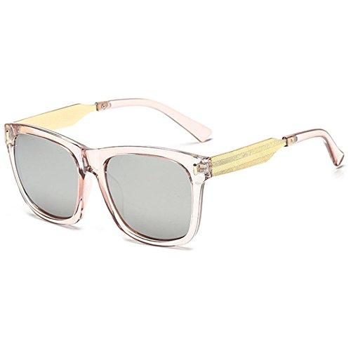 pas de lunettes F lunettes femmes et soleil cher Hommes lumineux carrés couleur Aoligei rétro TwqIPB8n