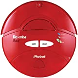 iRobot Roomba Intelligent Floorvac Robotic Vacuum, Red
