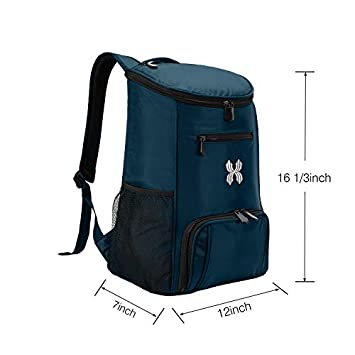 MOHEEN Insulated Cooler Backpack Leakproof Soft Cooler Bag Large Capacity Stylish Lightweight Picnic Lunch Cooler for Men Women – Hiking Fishing Camping Beach Park Day Trips