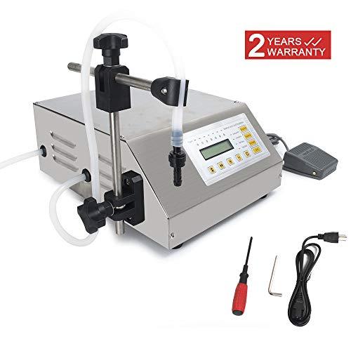 (DPL Automatic Digital Bottle Filling Filler Control Pump Liquid Filling Machine GFK-160 Automatic Bottle Filler (2-3500ml))