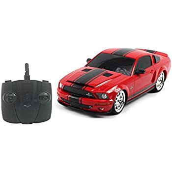 Amazon.com: FORD GT RED REMOTE CONTROL CAR RC CARS 1/18 ...