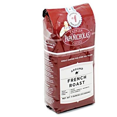 Papanicholas Coffee - Premium Coffee French Roast 6/Carton ''Product Category: Breakroom And Janitorial/Beverages & Snack Foods'' by PapaNicholas Coffee