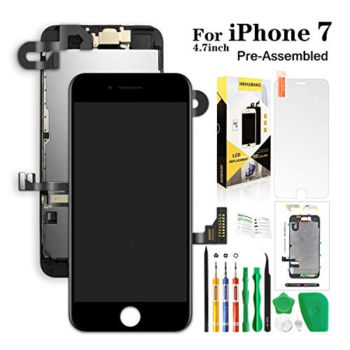 Compatiable with iPhone 7 Screen Replacement Black 4.7inch