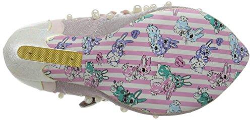 Irregular Choice Juicy Jewels, Zapatos de tacón Mujer Rosa (Pink)
