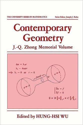 Descargar Libro Patria Contemporary Geometry: J.-q. Zhong Memorial Volume Paginas De De PDF