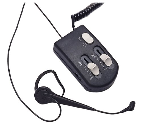 Fellowes Enhanced Headset System Headset & Amps Fits Most Phones