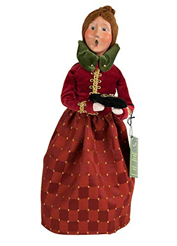 Byers' Choice 5 Gold Rings Caroler Figurine #735 from The 12 Days of Christmas Collection (Rings Five Christmas Songs Gold)