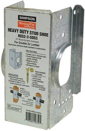 Simpson Strong-Tie Stud Shoe 16 Ga Galvanized Fasteners 12-10 D
