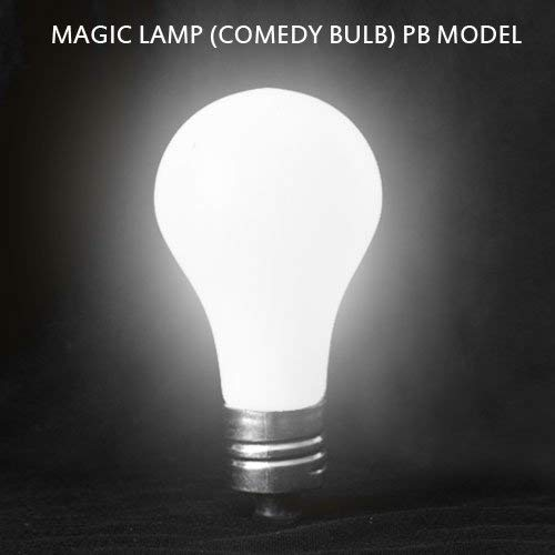Close Up Comedy Magic Lamp LED Glow in Hand Model Battery Light Bulb Magic Trick (Magic Lightbulb)