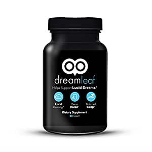 Dream Leaf - Advanced Lucid Dreaming Supplement - 60 Capsules - Experience the Lucid Dreaming Revolution!