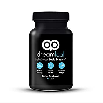 Dream Leaf - Advanced Lucid Dreaming Supplement - 60 Capsules - Experience  the Lucid Dreaming
