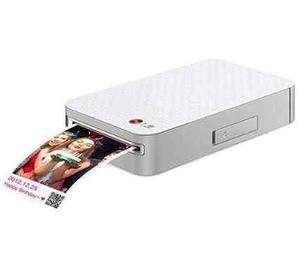 LG Impresora de fotos portátil PD223 + Papel fotográfico para ...