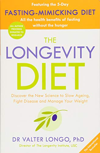 4133EENq9gL - The Longevity Diet [Paperback]