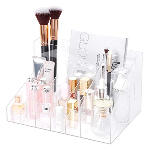 Rackaphile Clear Cosmetic Storage Organizer, Cl...