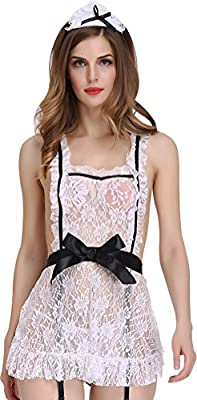 Women Sexy Lace Lingerie Sleepwear Underwear Sleep Dress