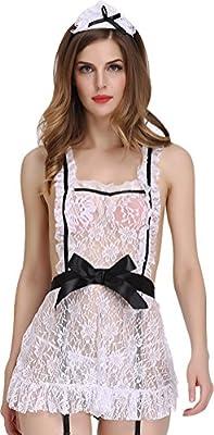 Women Sexy Lace Lingerie Sleepwear Underwear Sleep Dress