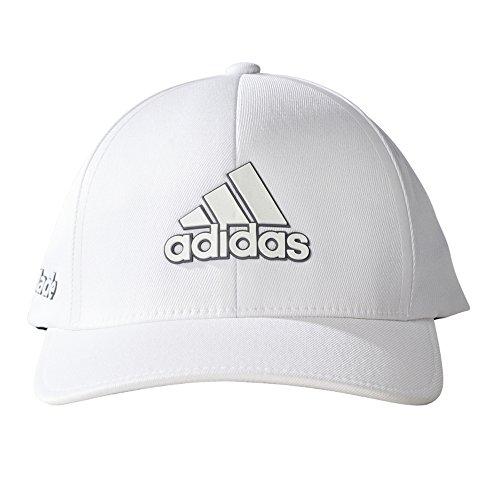 adidas Tour Delta Texture Cap, White, Large/X-Large